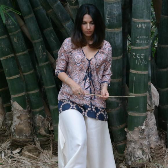 Sonya Silk Blouse