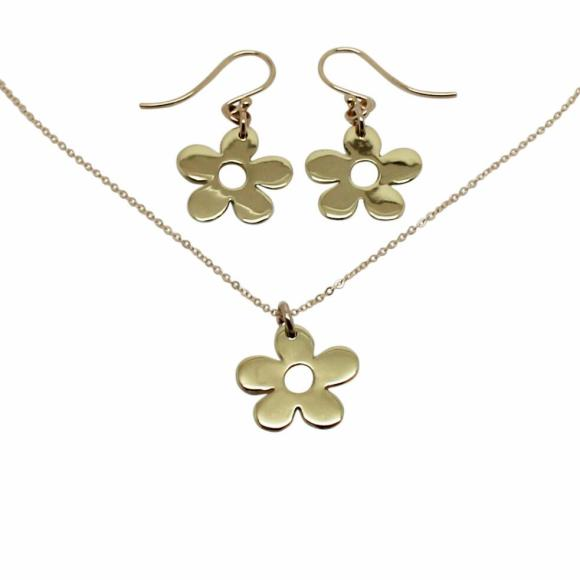 Gold Daisy Set