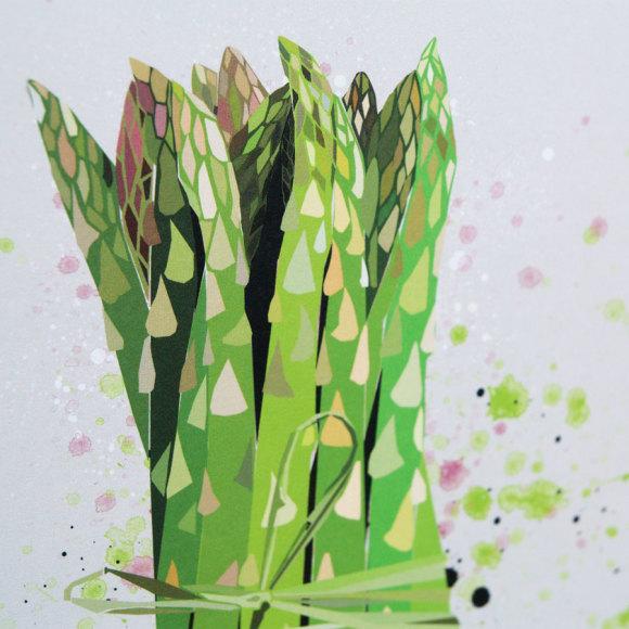 Asparagus Print 2