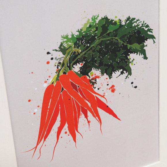 carrot print 2