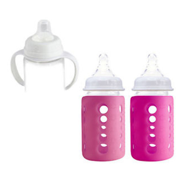 240ml Sippy Pink