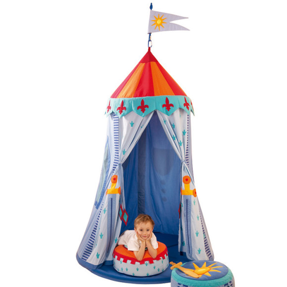 Knights indoor tent