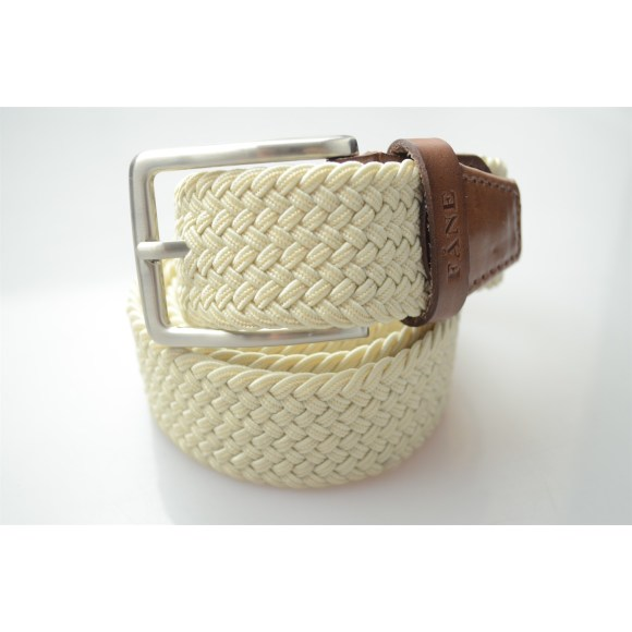 Weaved Belt Beige 1