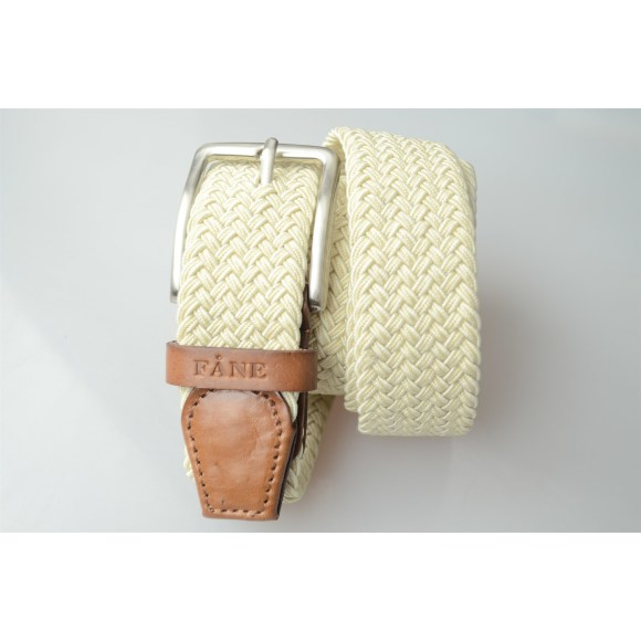 Weaved Belt Beige 2