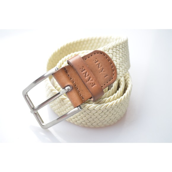 Weaved Belt Beige 3