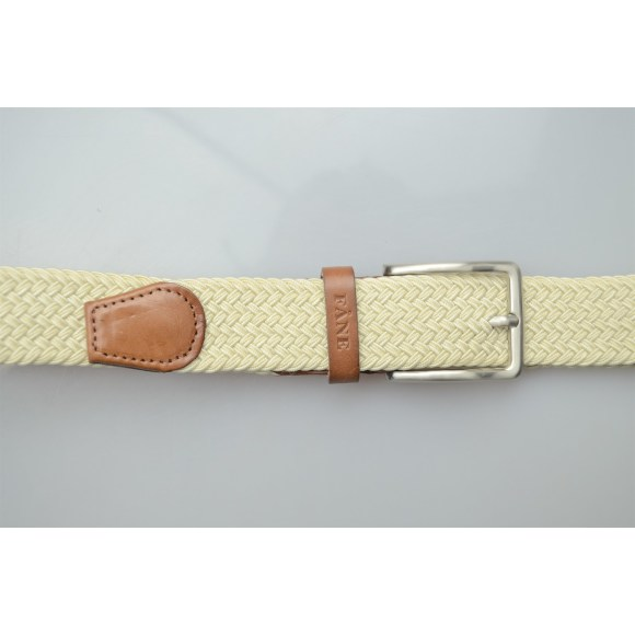 Weaved Belt Beige 4