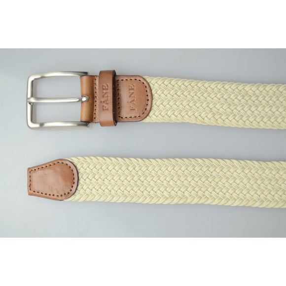 Weaved Belt Beige 5