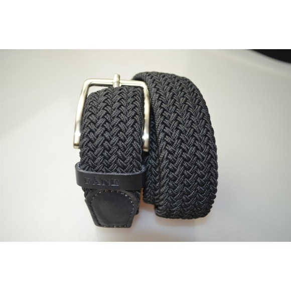 Weaved Belt Black 3