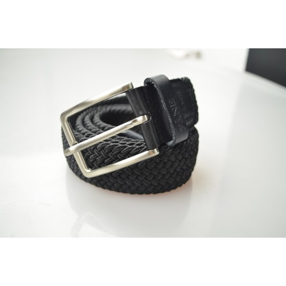 Weaved Belt Black 2