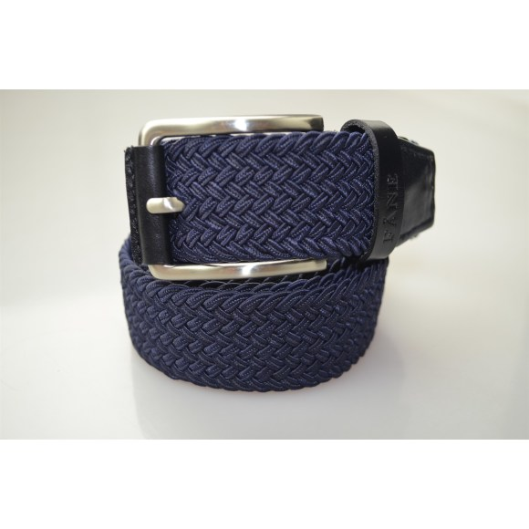 Weaved Belt Navy 1