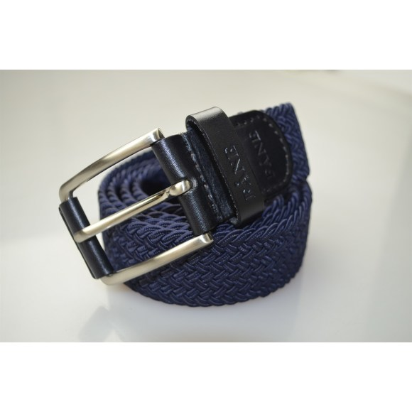 Weaved Belt Navy 3