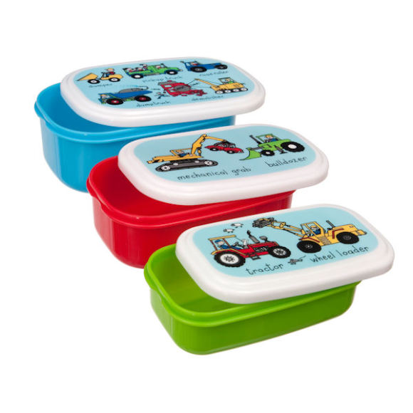 Working Wheels Snack Boxes