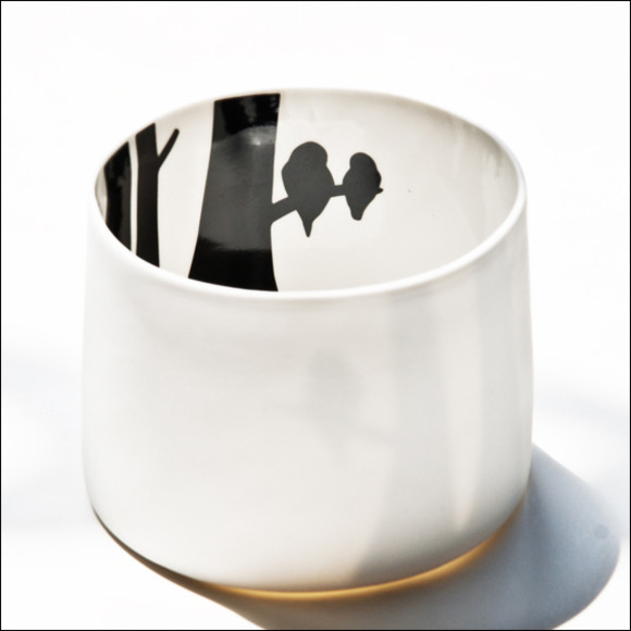 Birds tealight