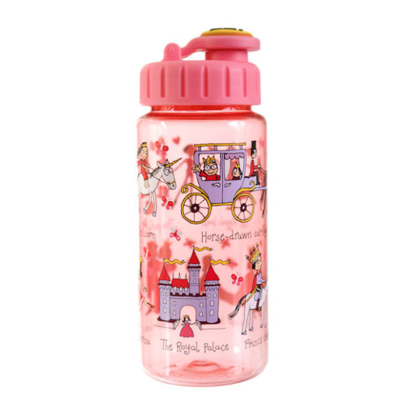 Tyrrell Katz Princess Drink Bottle with straw