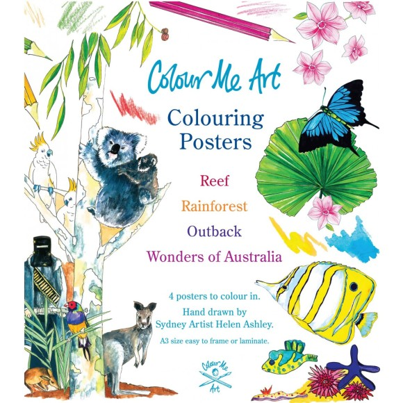 Colour and Learn with these posters!