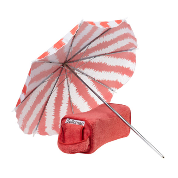 Bellamee parasol set - coral