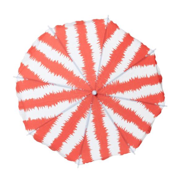 Coral Parasol open