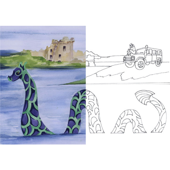 L is for the Loch Ness Monster!