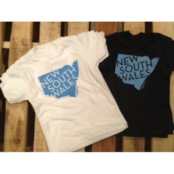 Navy and White NSW T-Shirts