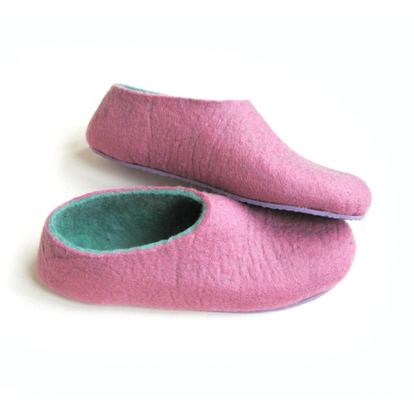 color block slipper