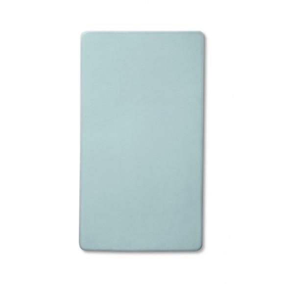Blue Tilt Platter Plate