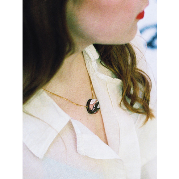 Marble I Necklace