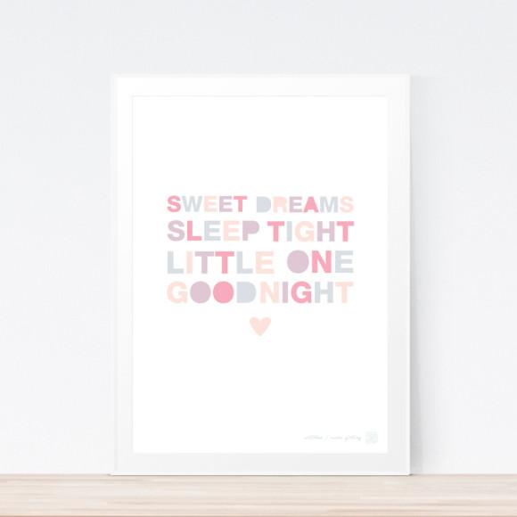 Sweet Dreams Art Print (Framed)
