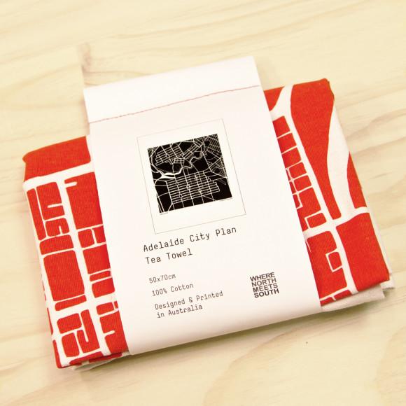Adelaide tea towel