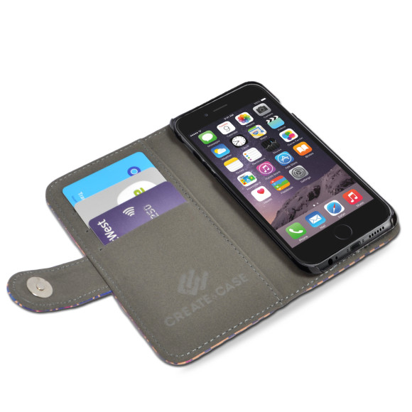 Aztec Print Smartphone Wallet Case Inside