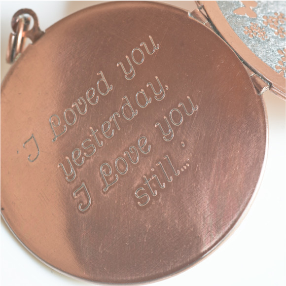 Example of Custom Engraving Option
