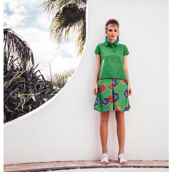 Wilma Skirt - Green