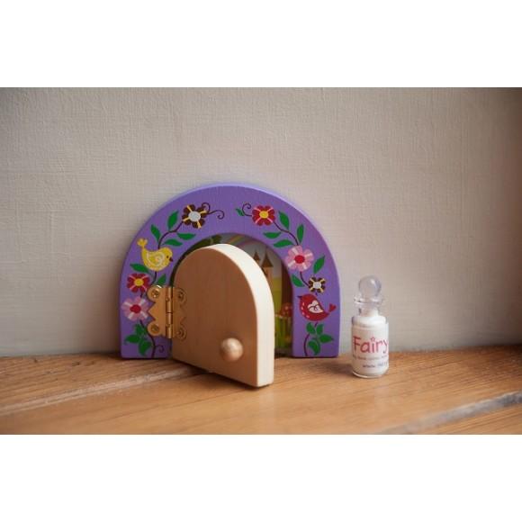 lavender opening fairy door gift set