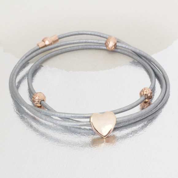 Rose gold and grey
