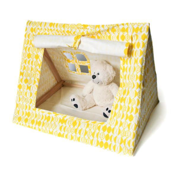 Mini Tent Yellow