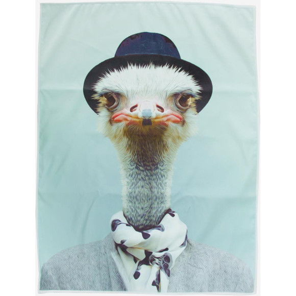 Tea Towel Ostrich