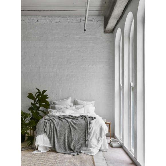 Organic cotton throw/blanket
