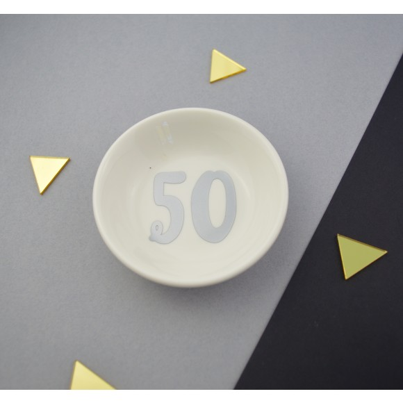 50 in Silver