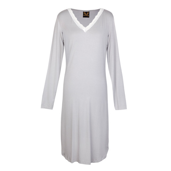Angelic Night Dress Grey