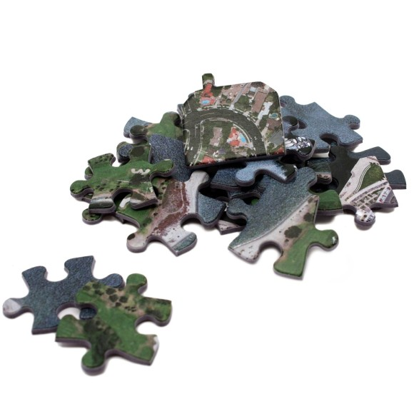 Cardboard jigsaw