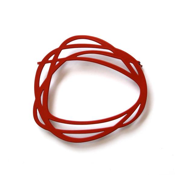 Rings-Brooch-Claret