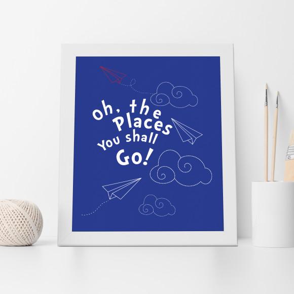 Dr Seuss Adventures Print