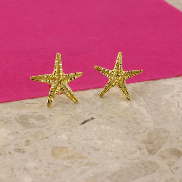 Aegina Starfish Earrings