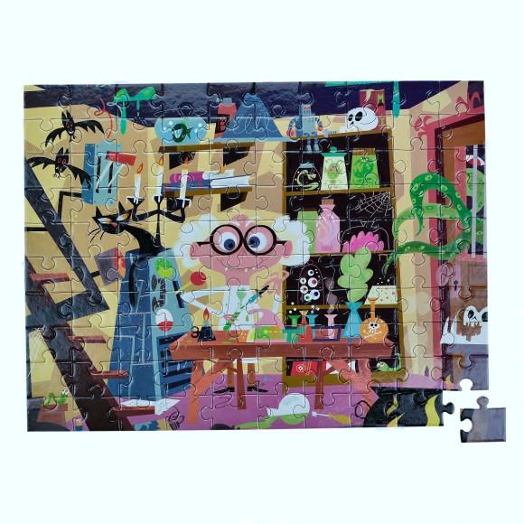 Glottogon 100 piece puzzle