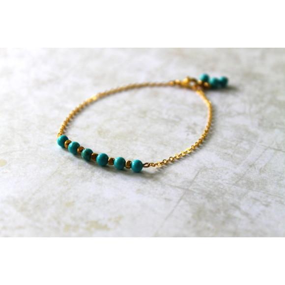 Turquoise stone bar