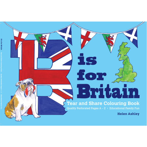 B is for Britain Colouring Book