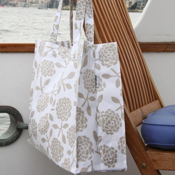 Oilcloth tote