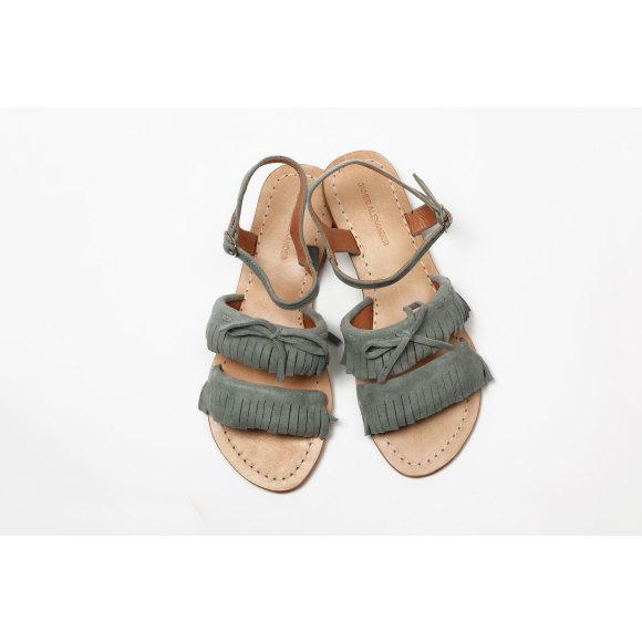 Baja Fringe sandal Grey