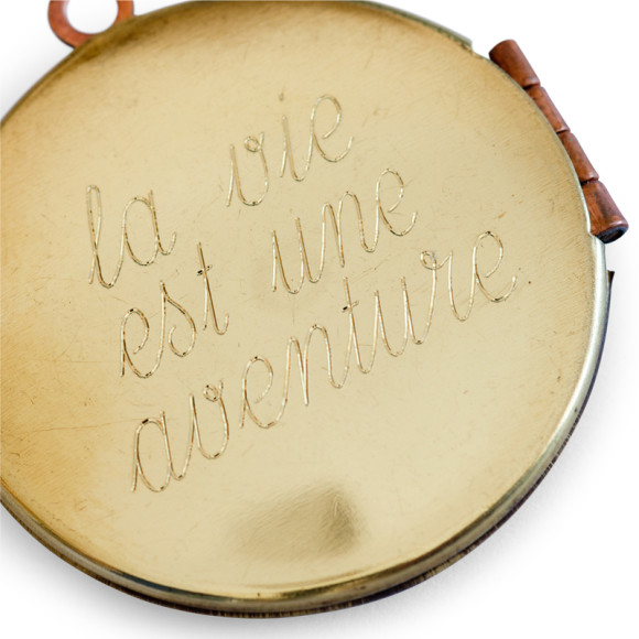 Back of Locket