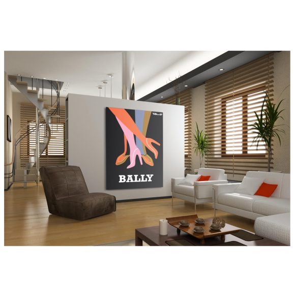 Bally Legs Poster