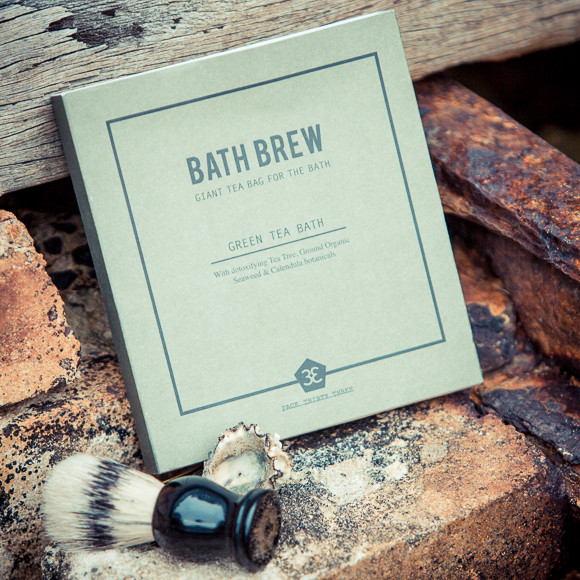 Bath brew green tea